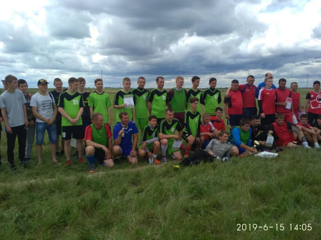 В Семёновке состоялся турнир по футболу, посвященный памяти воина – интернационалиста П. Т. Дерида